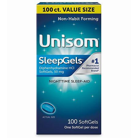 Unisom SleepGels - 100 ea
