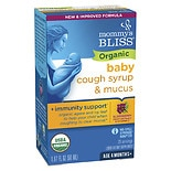 Mommy's Bliss Organic Baby Cough Syrup & Mucus Relief Day Time + Immunity Boost