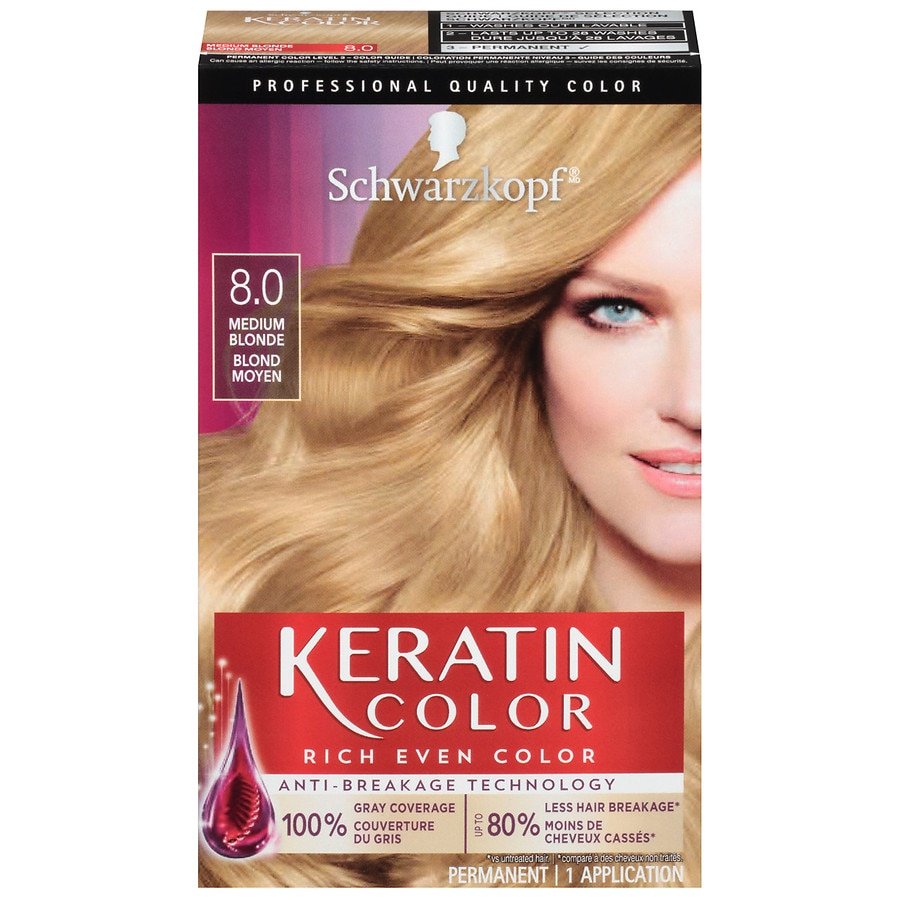 Schwarzkopf Keratin Color Intense Caring Color Hair Color
