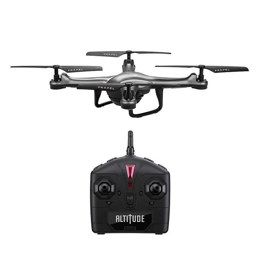 Altitude 24 Ghz Streaming Video Drone 92 Inches Titanium Walgreens