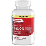 Walgreens Krill Oil Omega-3 Softgels
