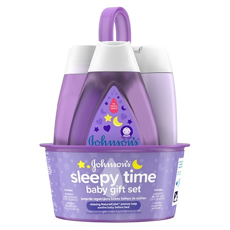 Johnson's Baby Sleepy Time Baby Gift Set - 1 ea