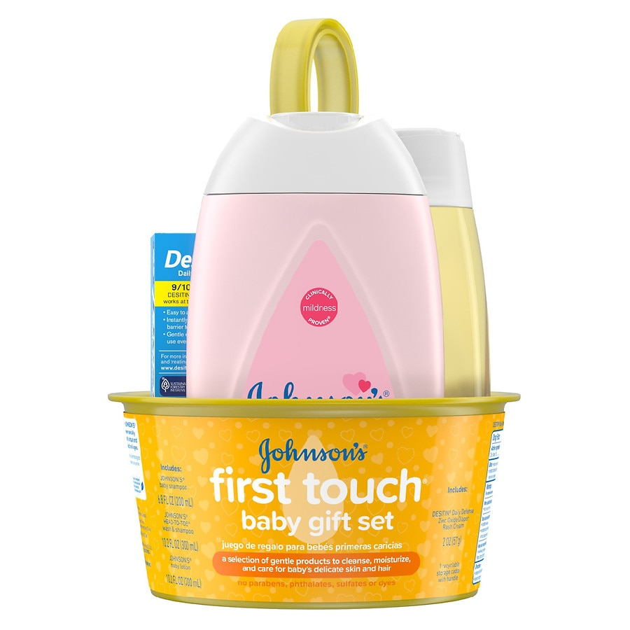 Johnsonu0027s Baby First Touch Gift Set Baby Bath u0026 Skin Products1ea  sc 1 st  Walgreens & Johnsonu0027s Baby First Touch Gift Set Baby Bath u0026 Skin Products ...