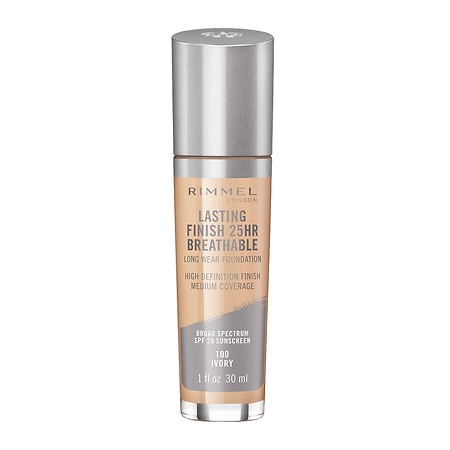 Rimmel Lasting Finish Breathable Foundation - 1 oz.