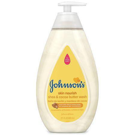 Johnson's Baby Skin Nourish Baby Wash With Shea & Cocoa Butter - 27.1 fl oz