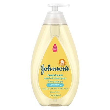 Johnson's Baby Head-To-Toe Wash & Shampoo - 27.1 fl oz