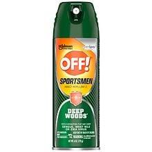 Deep Woods Off! Sportsmen Aerosol