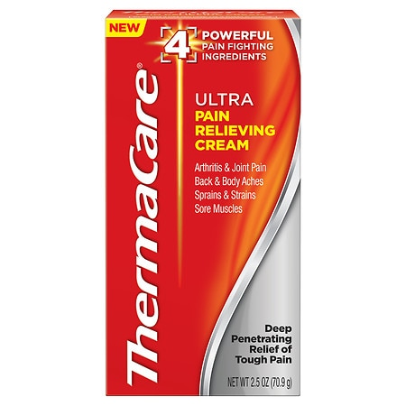 ThermaCare Ultra Pain Relieving Cream - 2.5 oz.