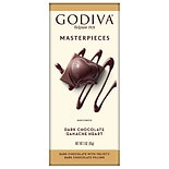 Godiva Masterpieces Premium Chocolate Dark Chocolate Ganache Heart
