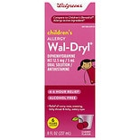 Walgreens Wal-Dryl Children's Allergy Oral Solution Cherry