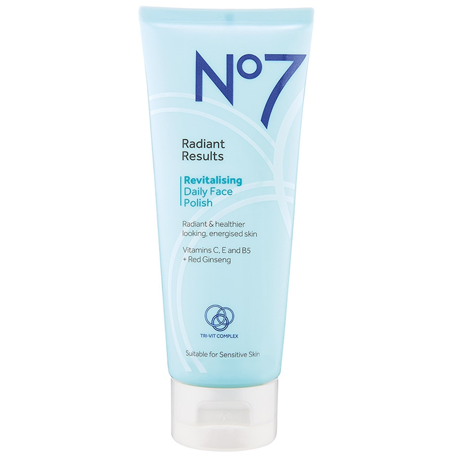 No7 Radiant Results Revitalizing Daily Face Polish