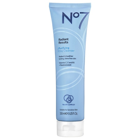 No7 Radiant Results Purifying Clay Cleanser - 5 oz.