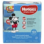 Huggies Simply Clean Fresh Scented Baby Wipes, Soft Pack, Alcohol-free Fresh Scented