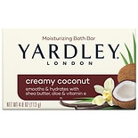 Yardley of London Creamy Coconut Naturally Moisturizing Bath Bar