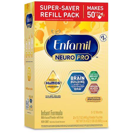 Enfamil NeuroPro Infant Formula Powder Refill - 15.7 oz. x 2 pack