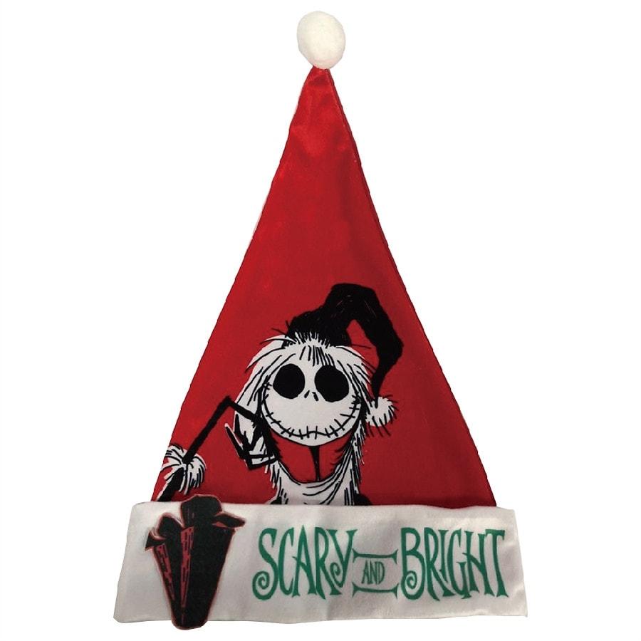 Disney Nightmare Before Christmas Santa Jack Santa Hat | Walgreens