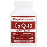 Walgreens CoQ-10 200 mg Softgels