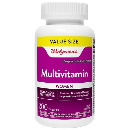 Walgreens Women's Multi Vitamin Tablets - 200 ea