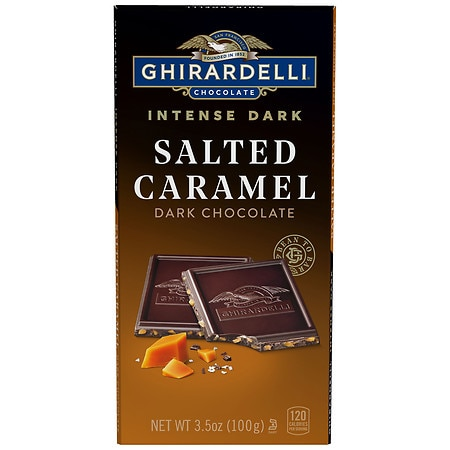 Ghirardelli Premium Chocolates Intense Dark Caramel - 3.5 oz.