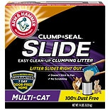 Arm & Hammer Slide Easy Clean-Up Multi-Cat Clumping Cat Litter