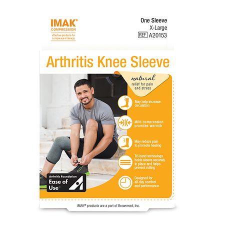 IMAK Compression Arthritis Knee Sleeve - 1 ea