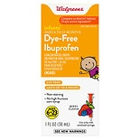 Walgreens Infants' Ibuprofen Concentrated Drops, Dye-Free Berry Dye Free