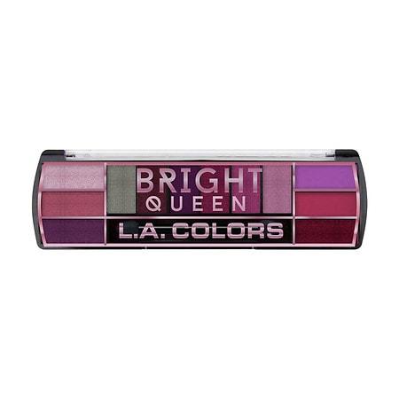 L.A. Colors 12-Color Shine vs. Matte Eyeshadow Palette - 0.28 oz.