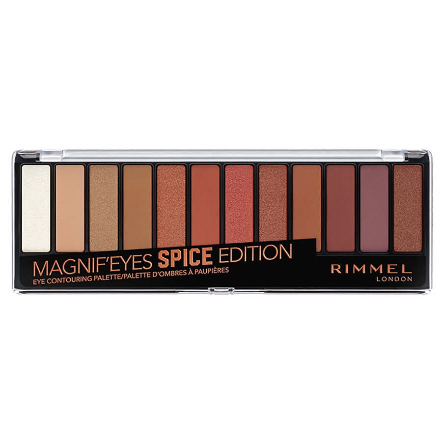 bc22cd3fb8e Rimmel Magnif'eyes Eyeshadow Palette, Spice | Walgreens