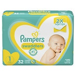 Pampers Pampers Swaddlers Newborn Diapers Size 1