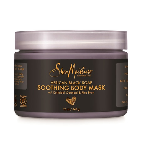 SheaMoisture African Black Soap Body Mask - 12.0 oz