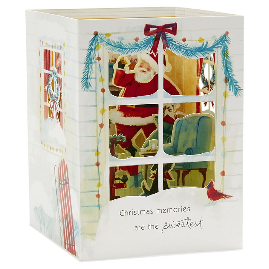 Hallmark Paper Wonder Pop-Up Christmas Card (Christmas Memories ...