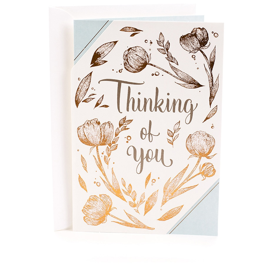 Hallmark Thinking Of You Greeting Card Brighten Your Day Flower
