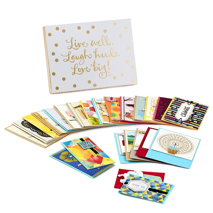Hallmark All Occasion Handmade Boxed Assorted Greeting Cards Walgreens