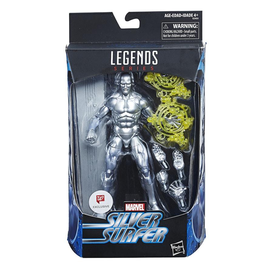 "Marvel Legends 6/"" Fantastic Four Walgreens Set Human Torch Thing Silver Surfer"