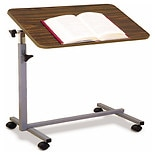 Essential Medical Tilt Top Adjustable Overbed Table