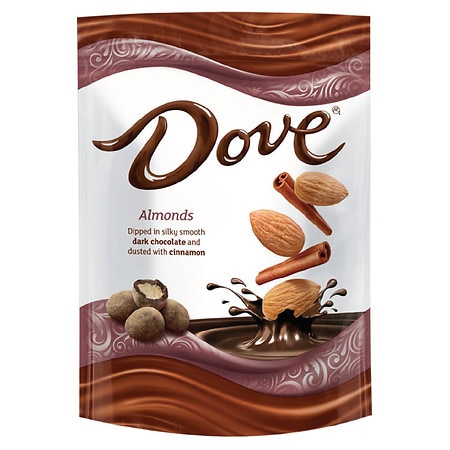 Dove Almonds With Cinnamon and Dark Chocolate Candy - 5.5 oz.
