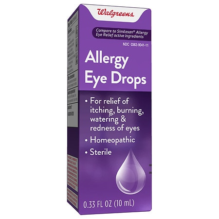 Walgreens Allergy Eye Drops - 0.33 fl oz