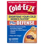 Cold-Eeze Defense Lozenges Citrus with Elderberry