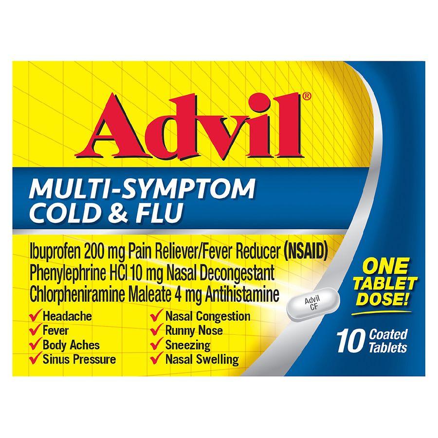 The drug Ibuprofen for colds