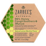 ZarBee's Naturals Cough + Mucus Soothers Honey with Ivy Leaf Lemon Mint