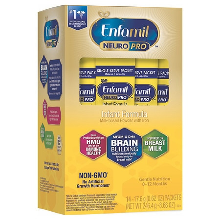 Enfamil NeuroPro Infant Formula Single Serve Powder - 1 oz. x 14 pack