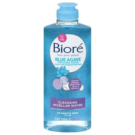 Biore Cleansing Micellar Water With Baking Soda - 10 fl oz