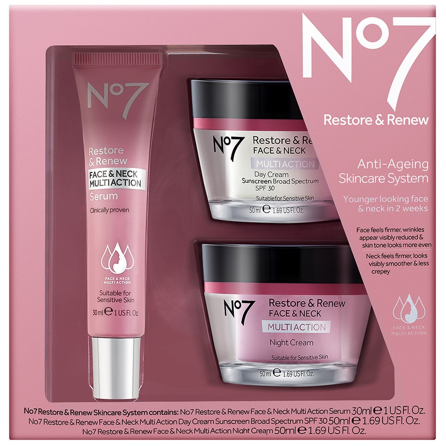 Boots No 7 Face And Neck Serum Reviews - Image Collections Boot