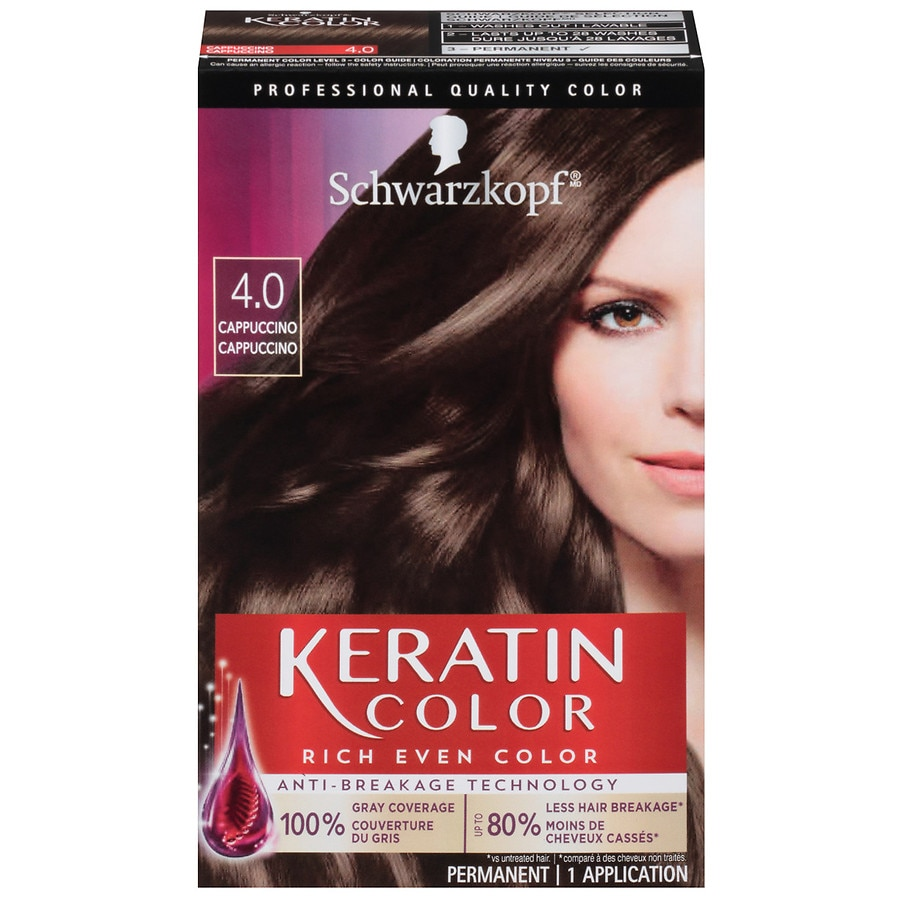 Schwarzkopf Keratin Color Anti Age Hair Cuccino 4 01 Oz