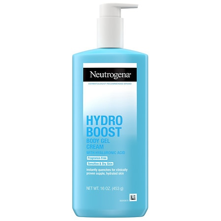 Neutrogena Hydro Boost Body Gel Cream Fragrance Free - 16 oz.