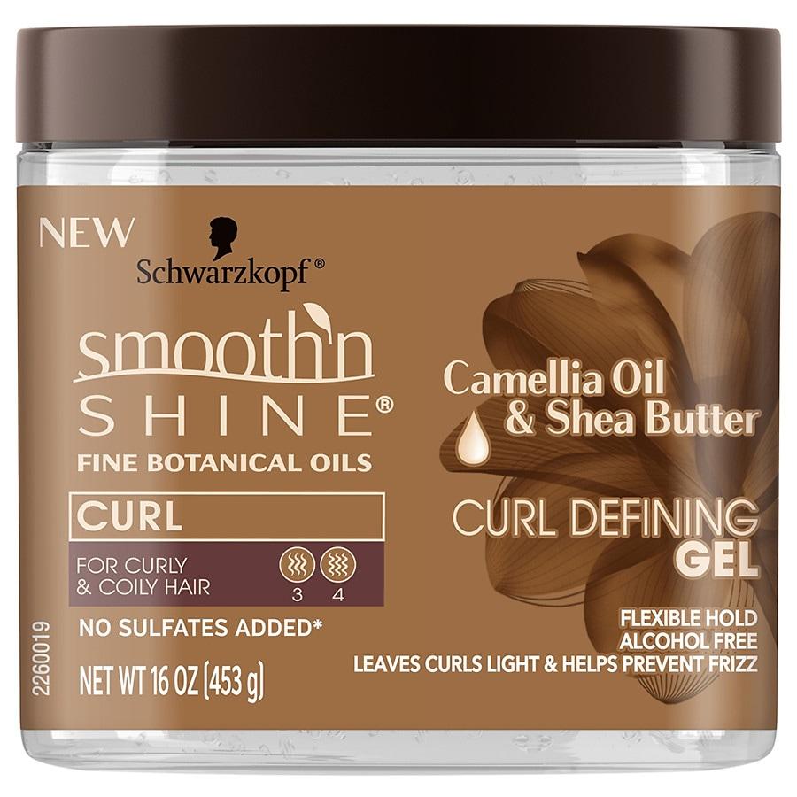 Schwarzkopf Smooth 'N Shine Curl Defining Gel