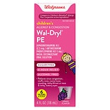 Walgreens Wal-Dryl Children's Allergy PE Grape Grape