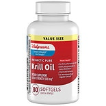 Walgreens Krill Oil Omega-3 Extra Strength 500 mg Neutral/ Mild