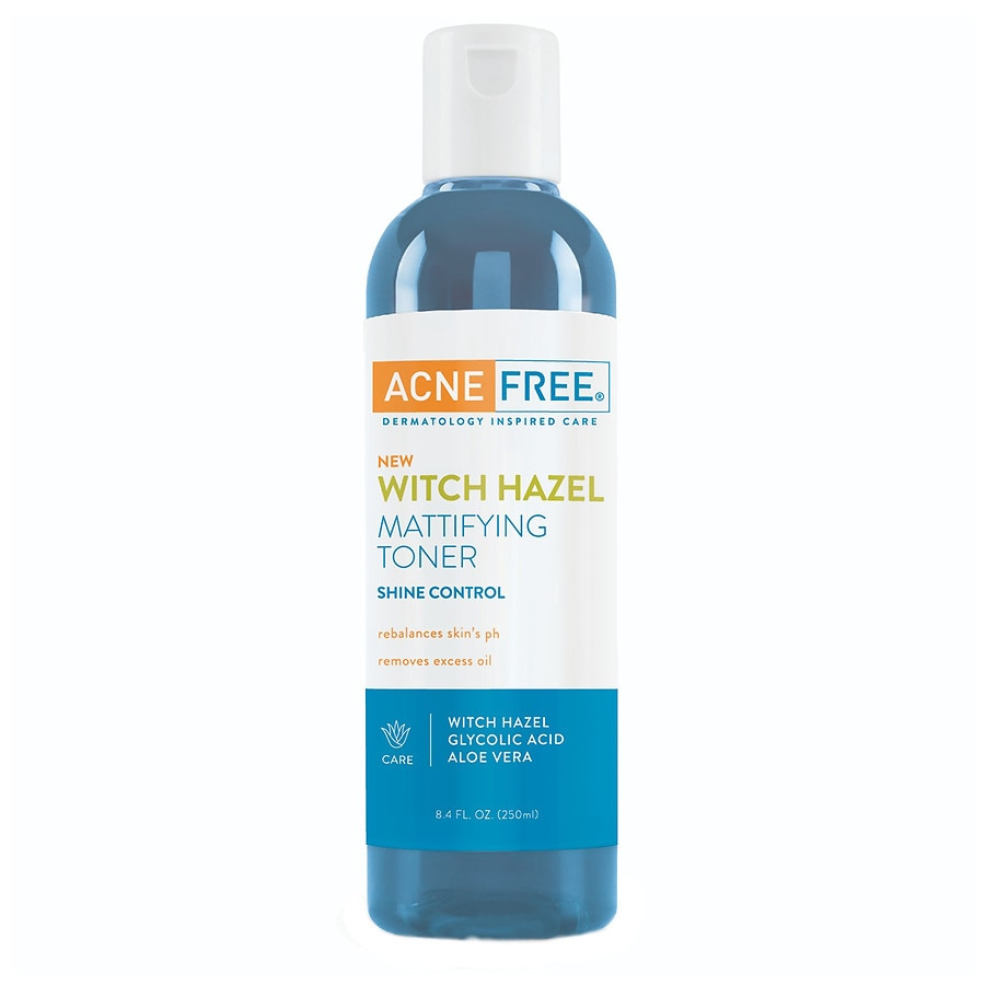 Acnefree Witch Hazel Mattifying Face Toner Walgreens