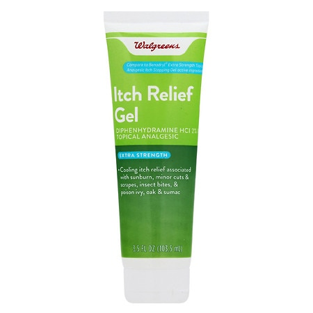 Walgreens Itch Relief Gel - 3.5 oz.